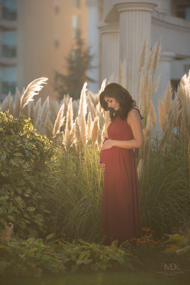 pregnant, беременная, beauty, Милен Добрев