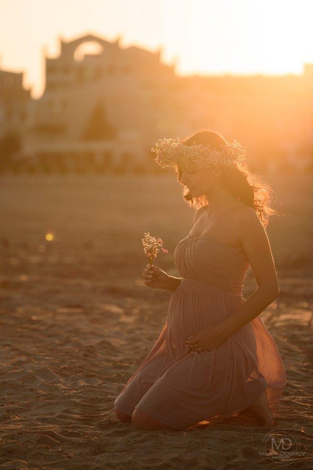pregnant, беременная, sunshine, beauty, matternity, Милен Добрев