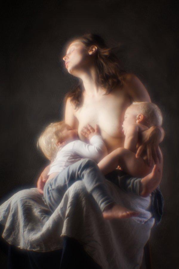 семейный портрет, семья, детский портрет, дети, студия, Алексей Терентьев