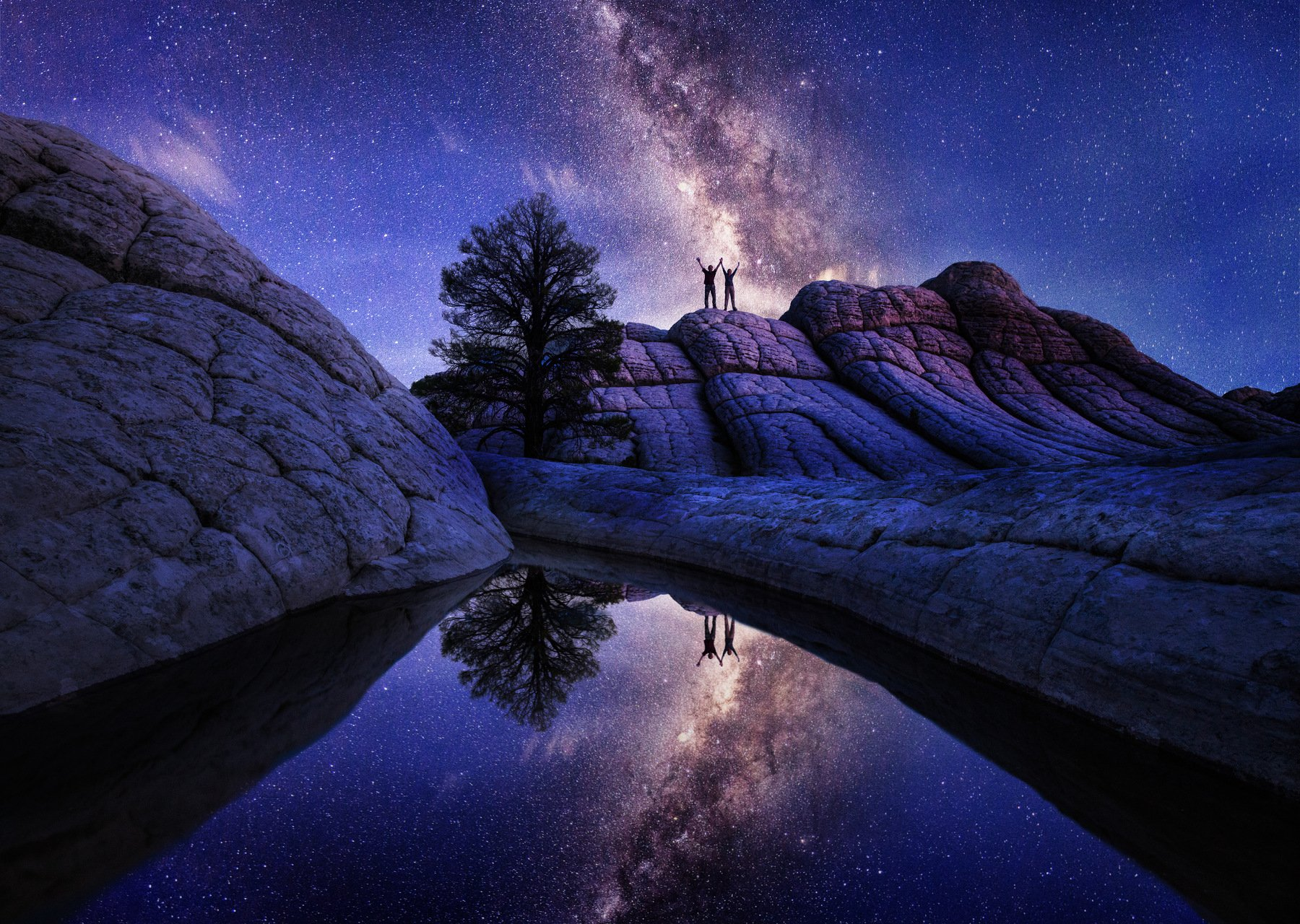 США, Аризона, Белый карман,USA, Arizona,  Vermilion Cliffs National Monument, White Pocket , Алексей Сулоев