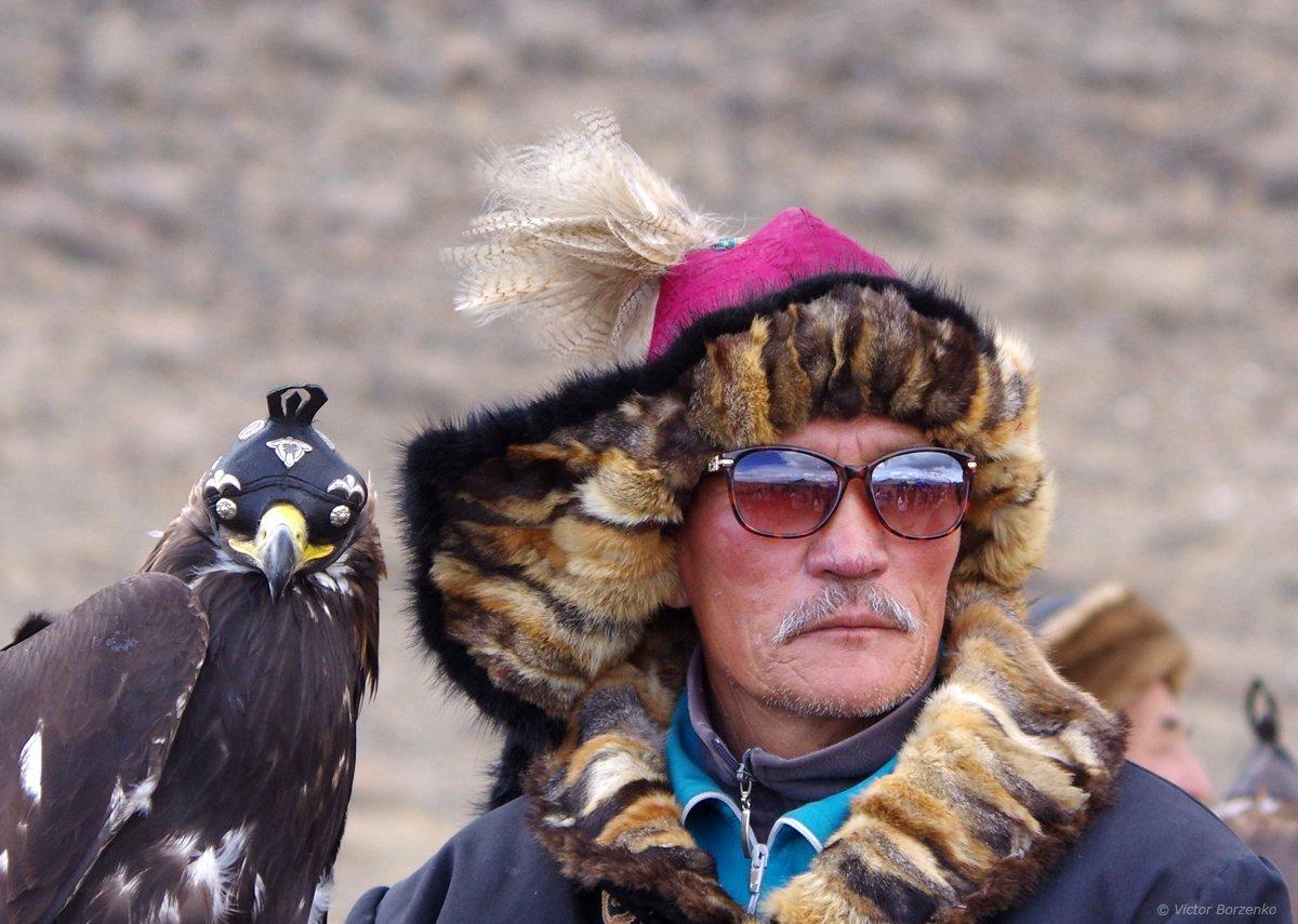 монголия беркут орел охотник, Виктор Борзенко