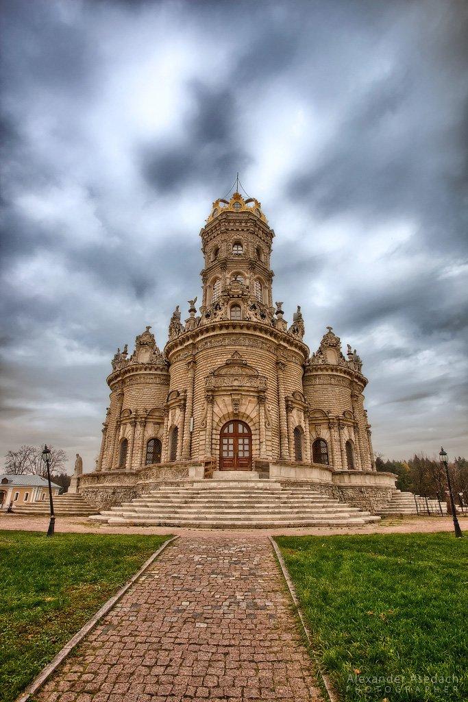 храм, церковь, подольск, осень, Asedach Alexander