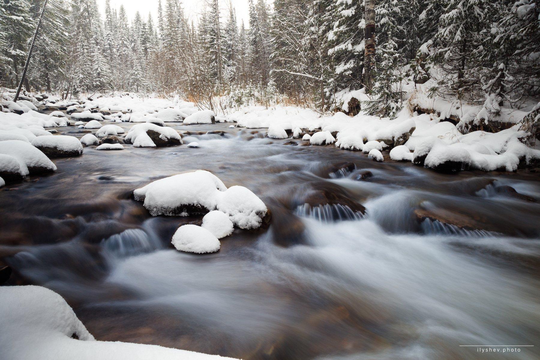 река, северный урал, природа, пейзаж, жигалан, россия, , Дмитрий Илышев