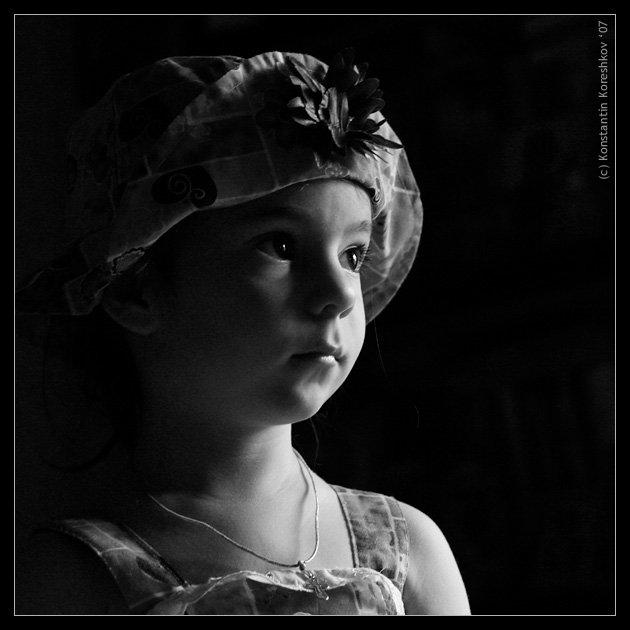дети, девочка, ребенок, взгляд, Константин Корешков