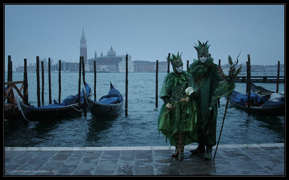 италия, венеция, карнавал, маски, italy, venice, venezia, mask, carnival, carnevale, гондолы, гондола, Константин Корешков