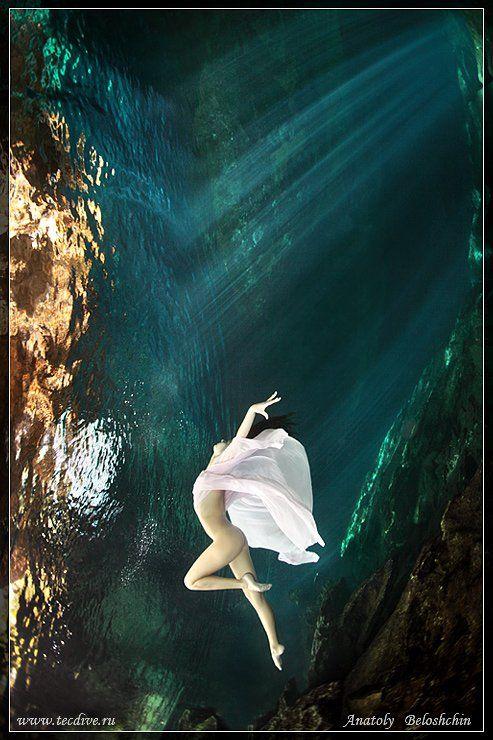 mexica, underwater, photo, cave, chak, mool, anatoly, beloshchin, nude, &, fashion, seacam, canon, 5d, mark, ii, Anatoly  Beloshchin