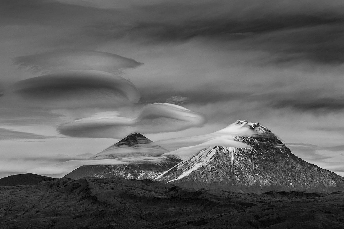 камчатка, фототур, путешествие, природа, облако, пейзаж, вулкан, Денис Будьков