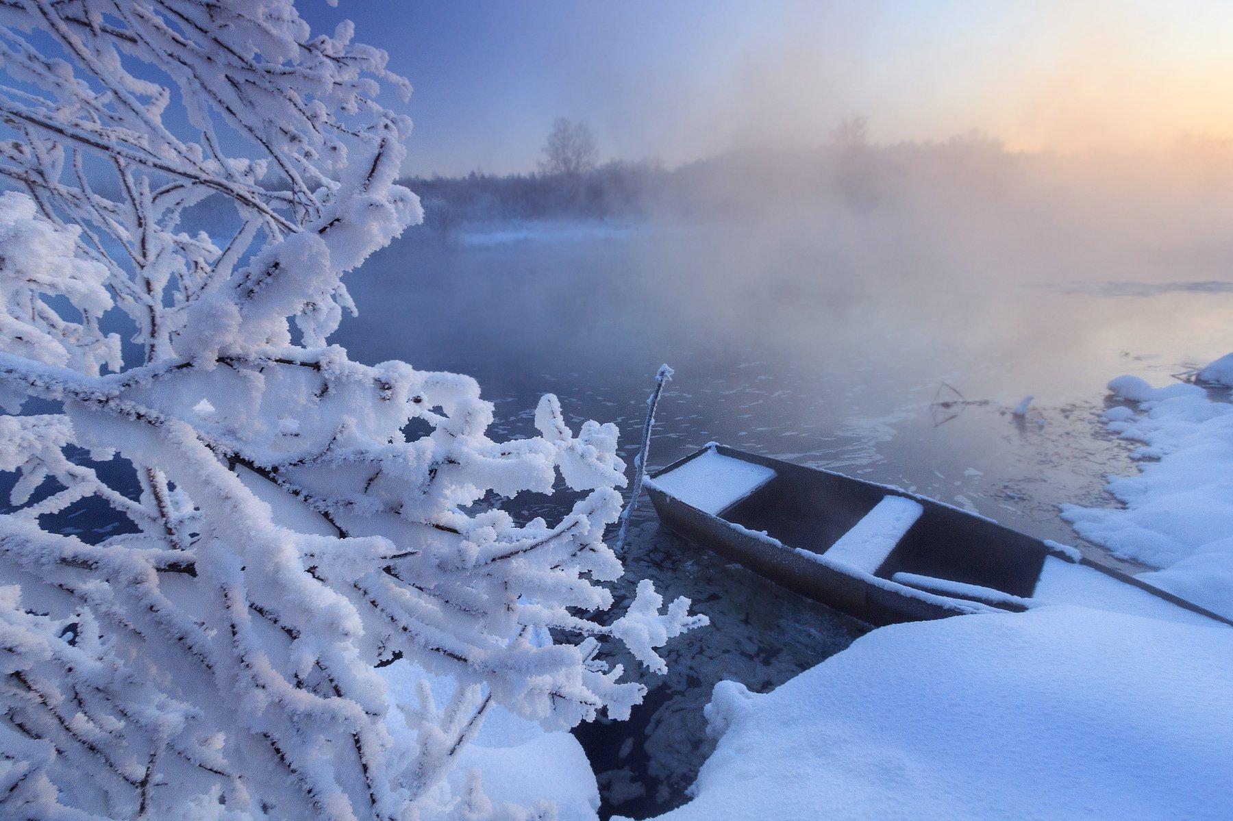 среднеуральск, урал, средний урал, зима, река, мороз, грэс, Сергей Гарифуллин