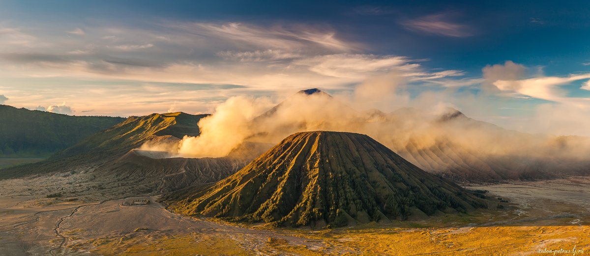 индонезия, вулкан, бромо, рассвет, Антон Петрусь