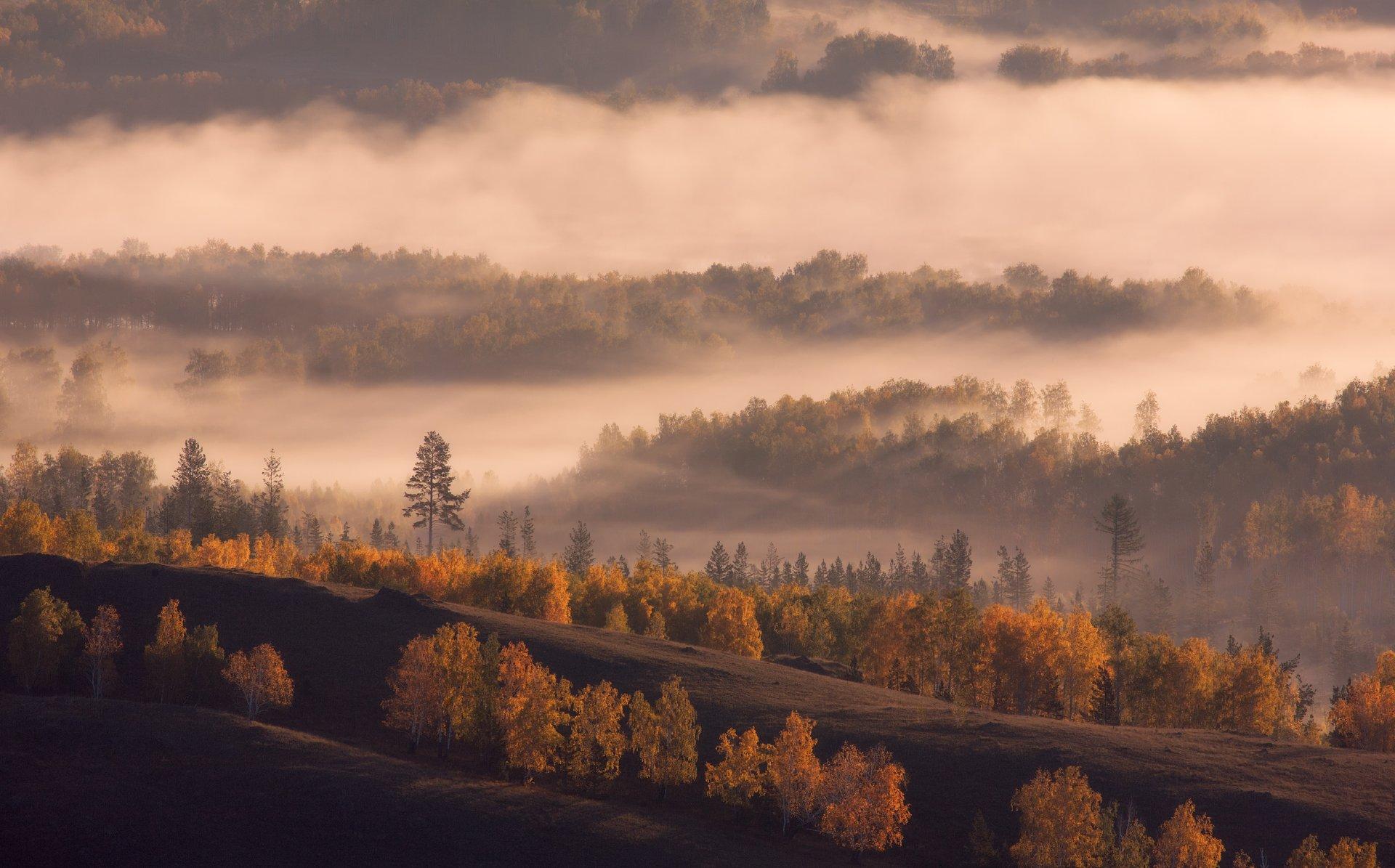 хребет нурали, Южный Урал, осень, marateaman