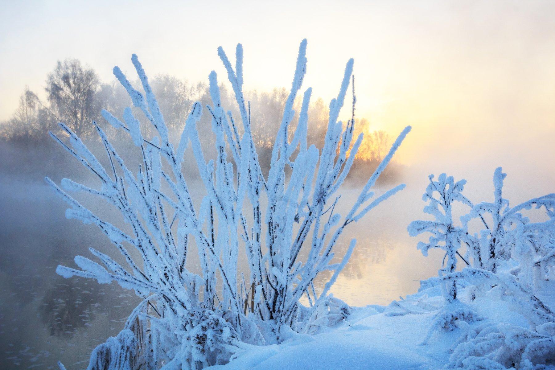 среднеуральск, урал, средний урал, река, зима, рассвет, закат, Сергей Гарифуллин