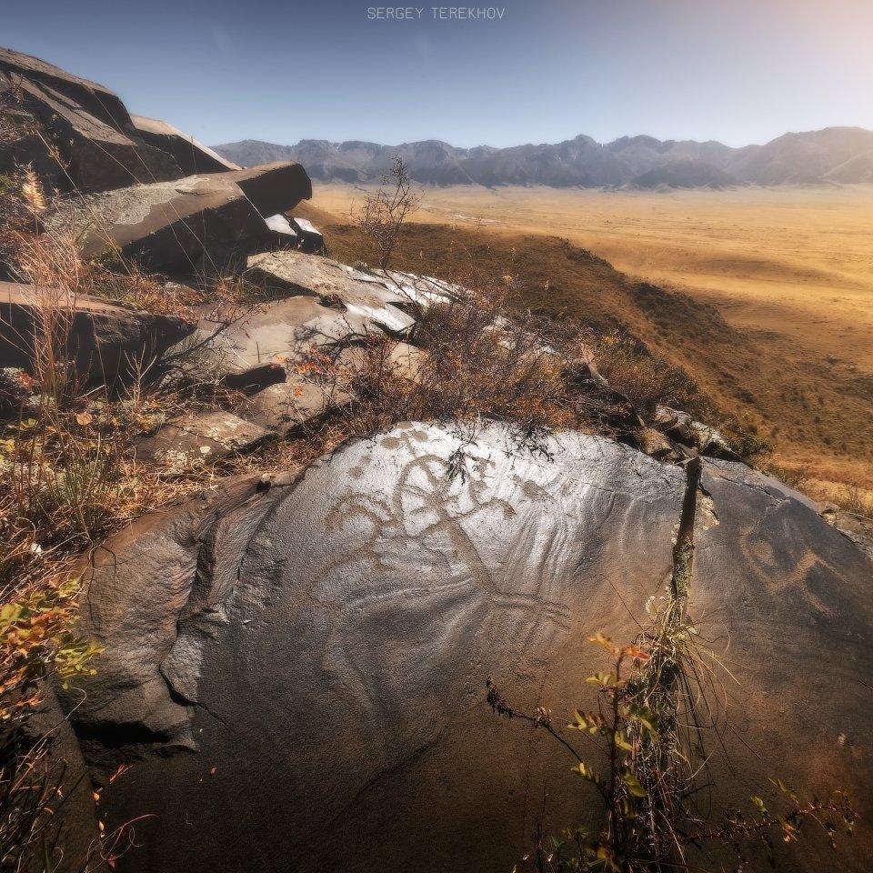 казахстан, фотографии казахстана, баян-журек, наскальные рисунки баян-журека, петроглифы казахстана, природа казахстана, фото-туры по казахстану,, Сергей Терехов