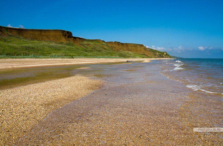 азовское море, таманский полуостров, лето, пляж, природа, пейзаж, песок, Евгений Харланов