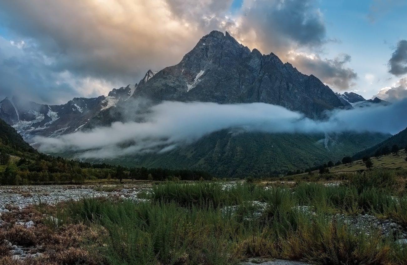 закат, горы, Эстелла