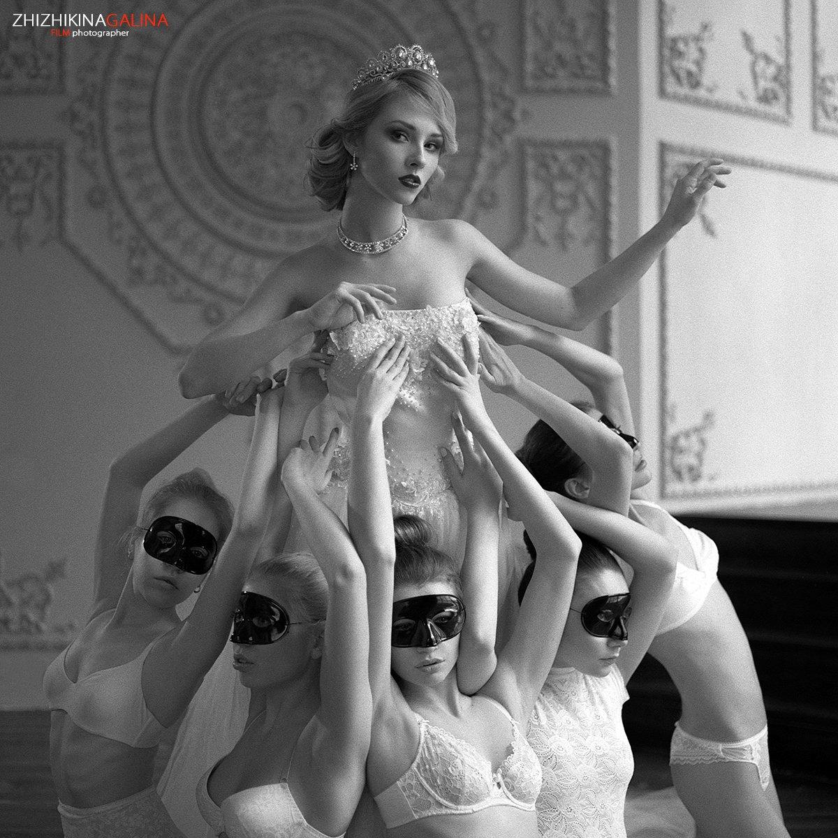 девушка, свет, принцесса, тиара, корона, лицо, портрет, жанр, искусство, креатив, модель, фотография, фотосессия, soul, photo, photography, portrait, nature,, Галина Жижикина