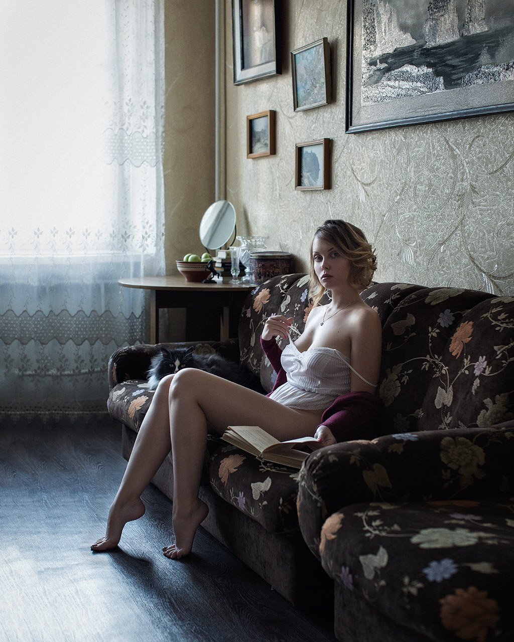 eyes, girl, people, portrait, Казанцев Алексей
