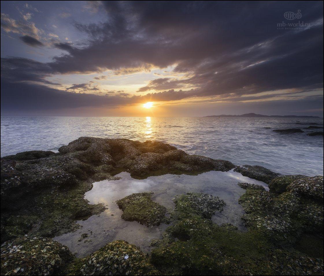 Таиланд, закат, море, пейзаж, азия, , Михаил Воробьев