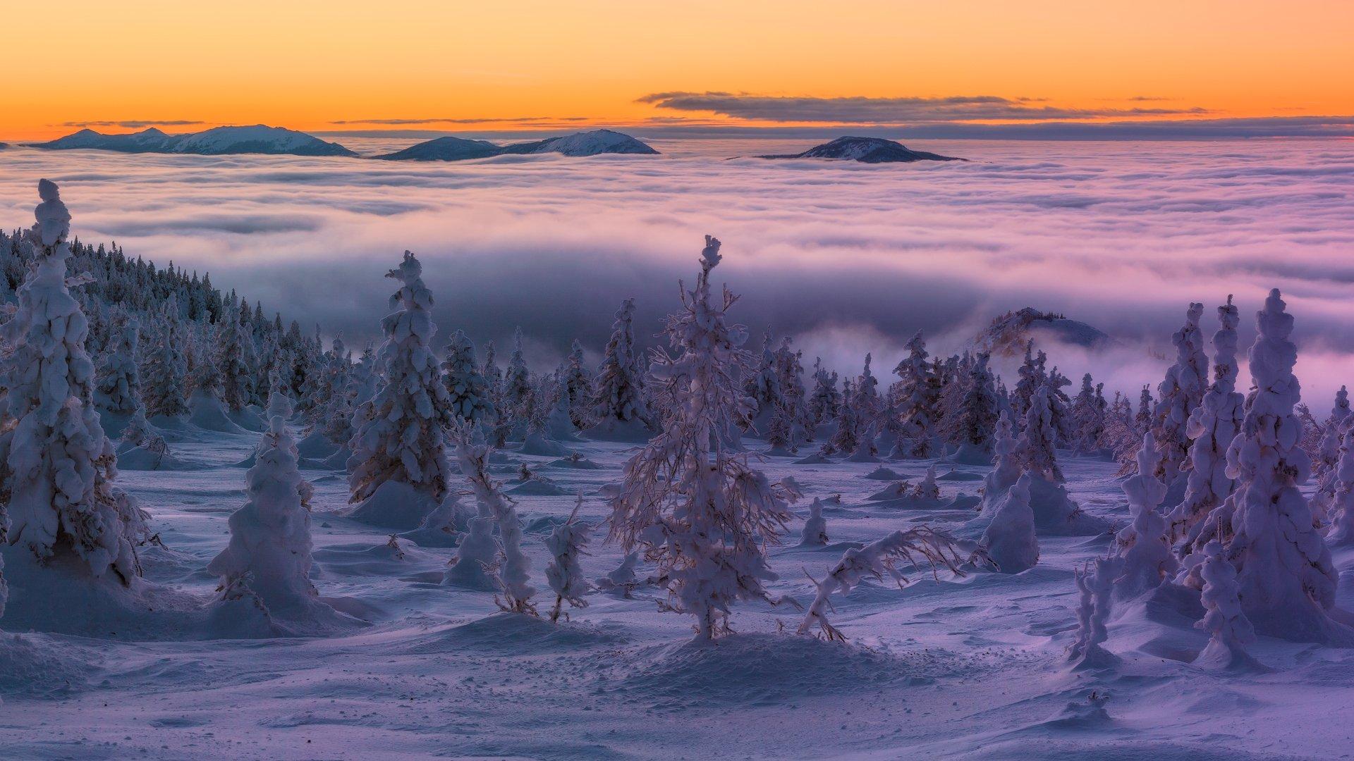 южный урал, зюраткуль, низкие облака, marateaman