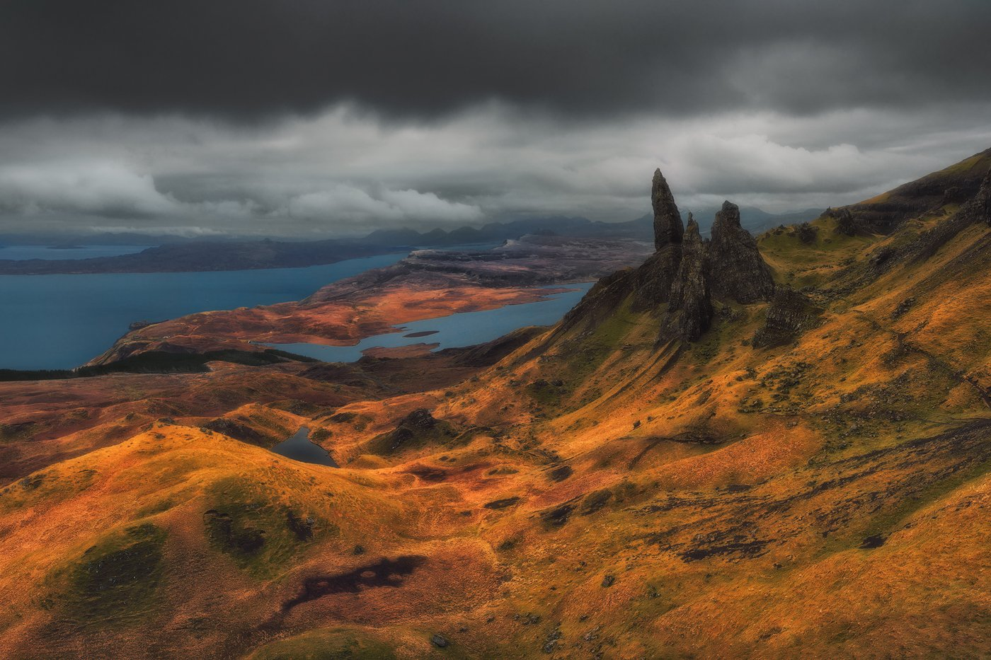 scotland, isle_of_skye, skye, travel, nd, long_exposure, nikon, uk, landscape, fine_art, highlands, heliopan, manfrotto, filters, water, colors, rgb, hills, mountains,, Hubert Leszczynski