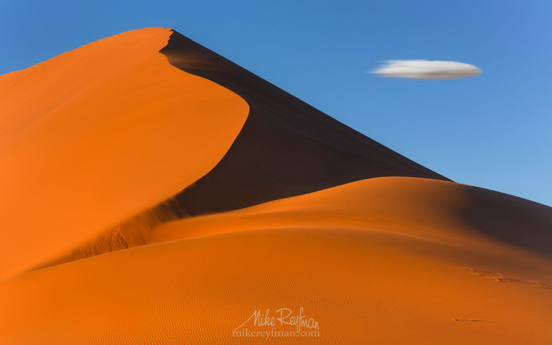 sossusvlei dunes, namib-naukluft national park, sesriem, namibia, aerial, Майк Рейфман