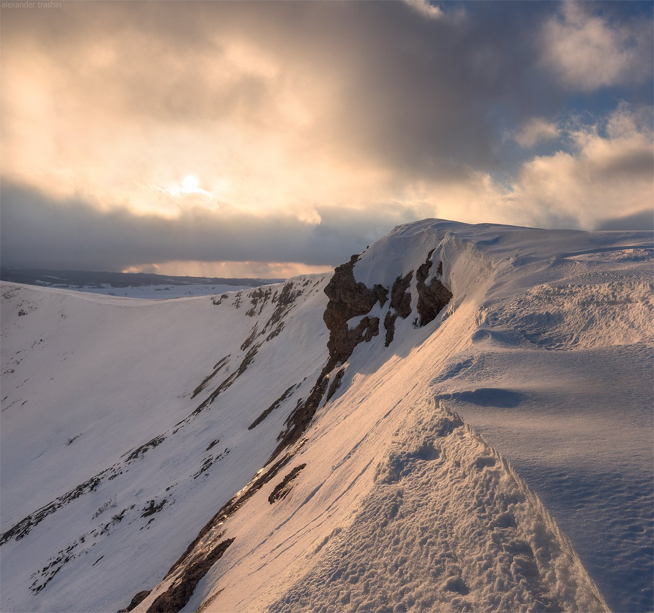 крым, чатыр-даг, зима, пейзаж, горный пейзаж, Александр Трашин