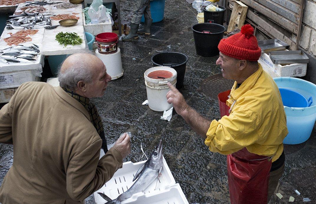Market fish sicily, Boris Zhitomirsky