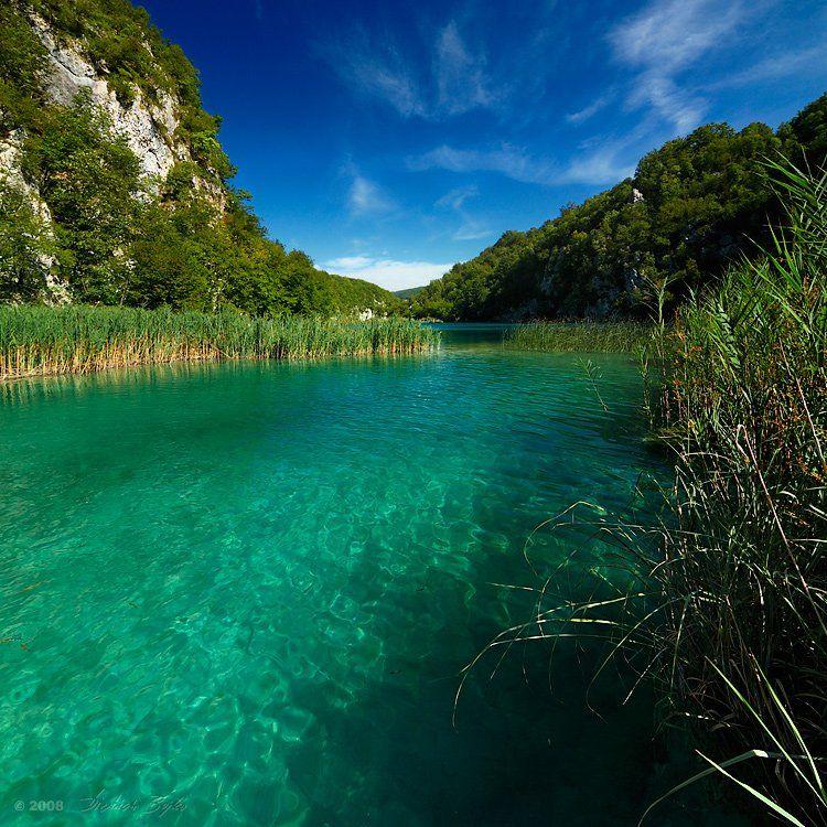 пейзаж, хорватия, плитвице, природа, заповедник, Дмитрий Бойко