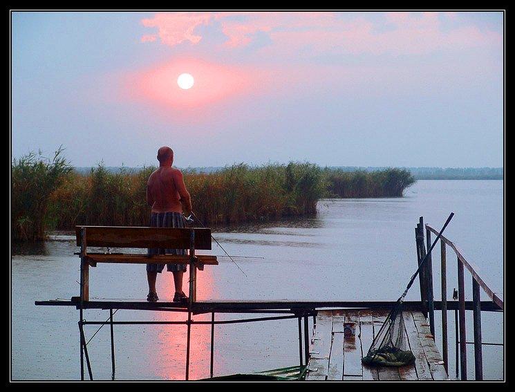 азовское море, сладкий лиман, краснодарский край, осень, вечер, рыбалка, wofa