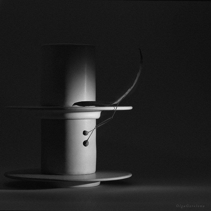 фото, чб, натюрморт, Ольга Горелова