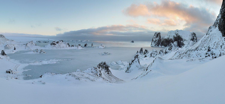 антарктика, остров kig georg, пролив дрейка,, Руслан Елисеев