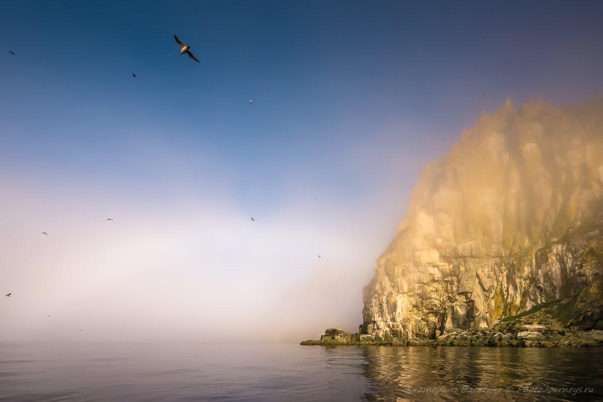 ямские острова, охотское море, радуга, Екатерина Васягина