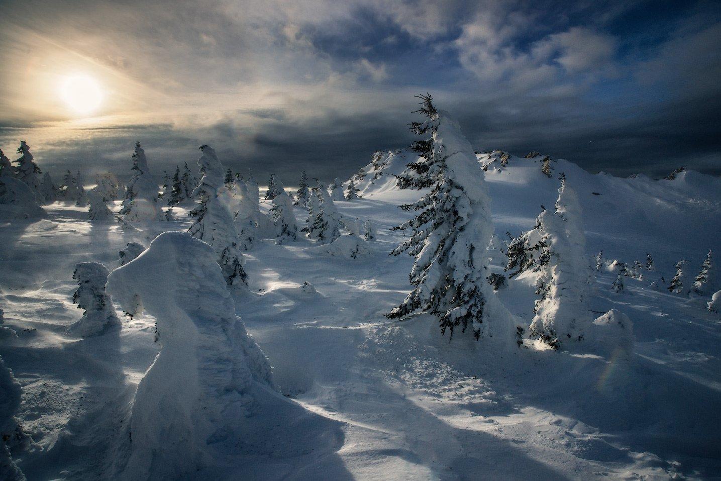 таганай, урал, горы, метео, зима, Владимир Ляпин