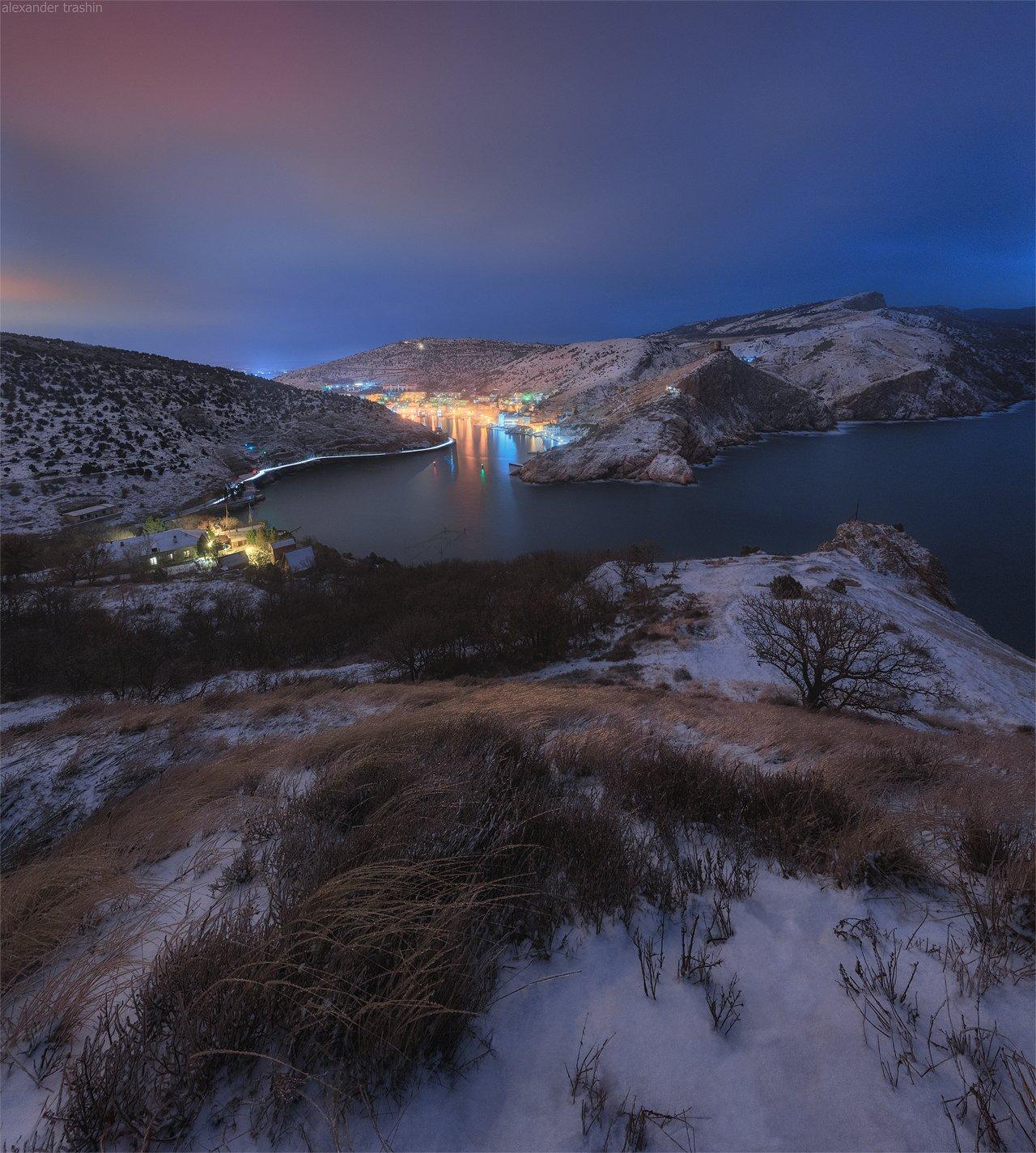 крым, зима, балаклава, пейзаж, Александр Трашин