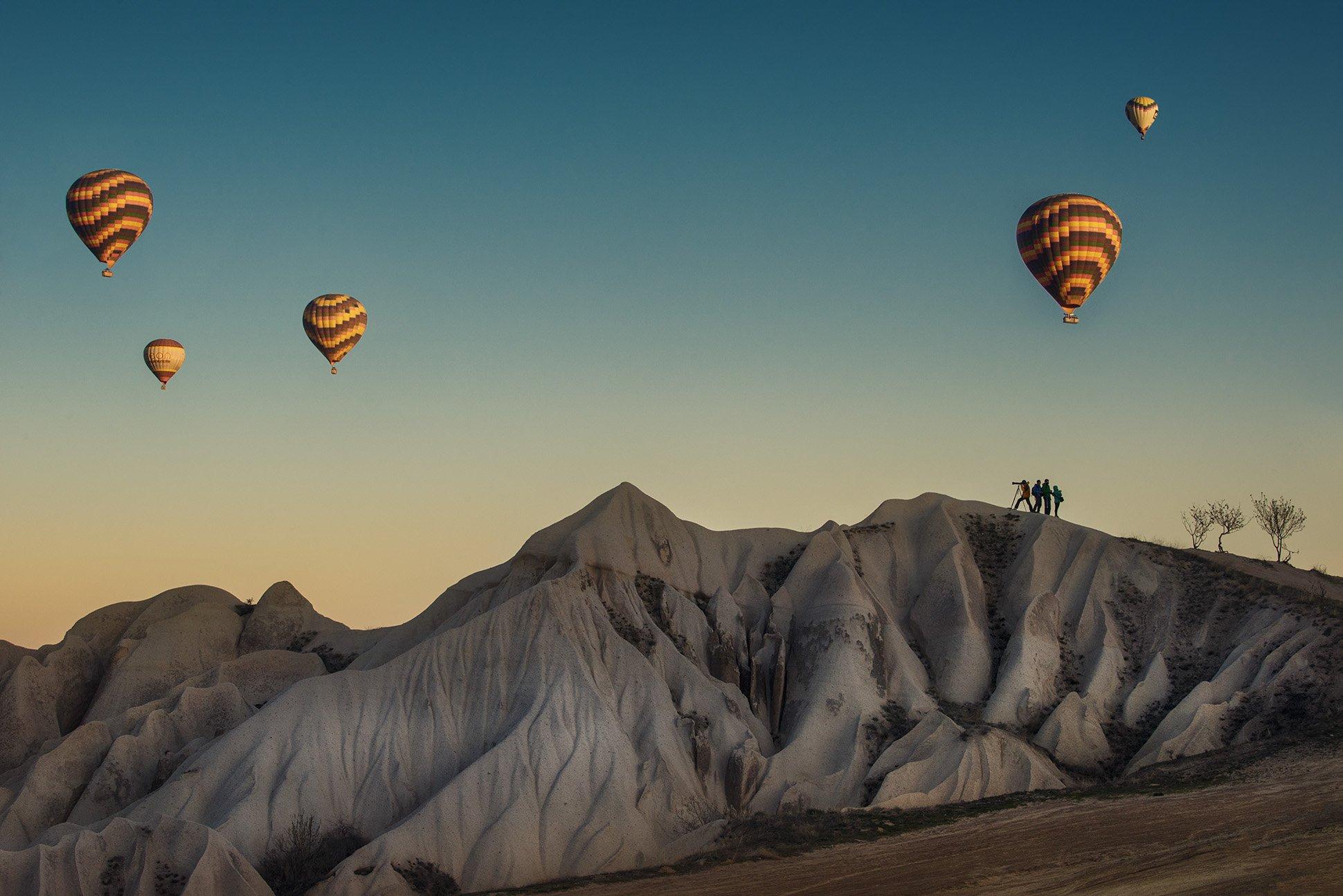 каппадкия, воздушные шары, Краси Матаров