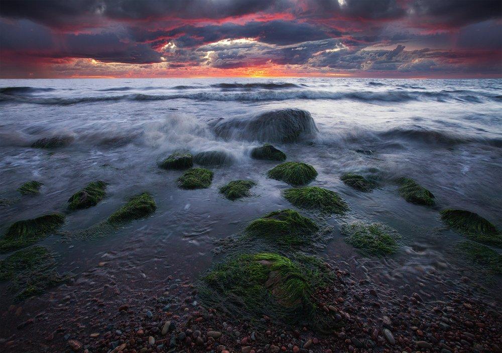 лето море закат, Aleksandr Kljuchenkow