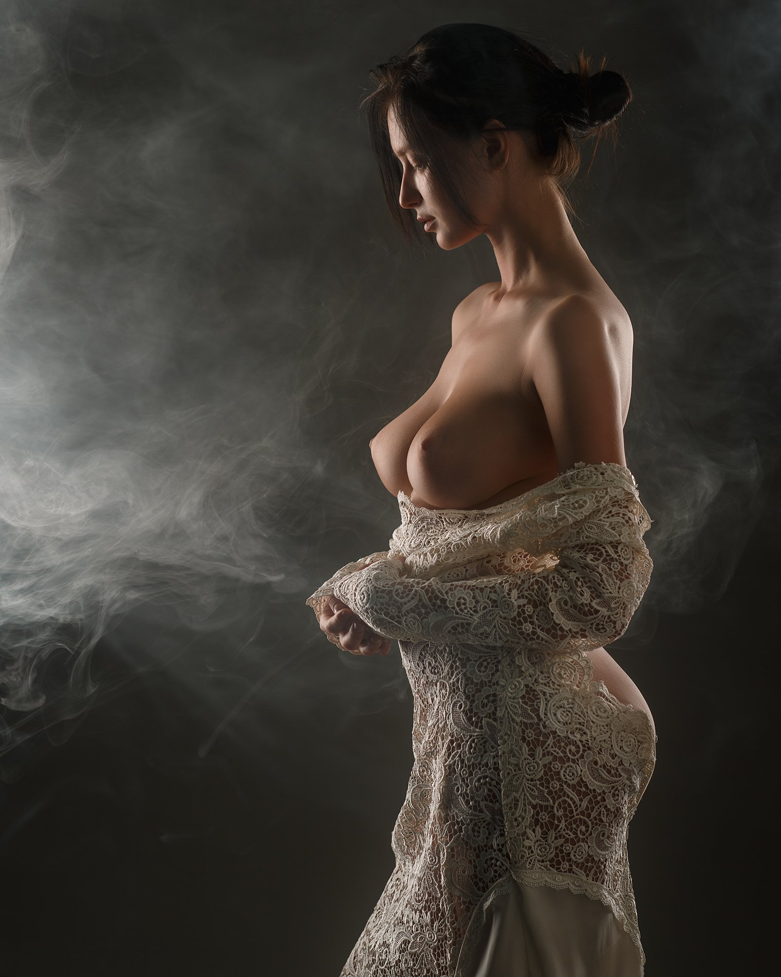 sexy girl body sensual smoke erotic, Сергей Сорокин