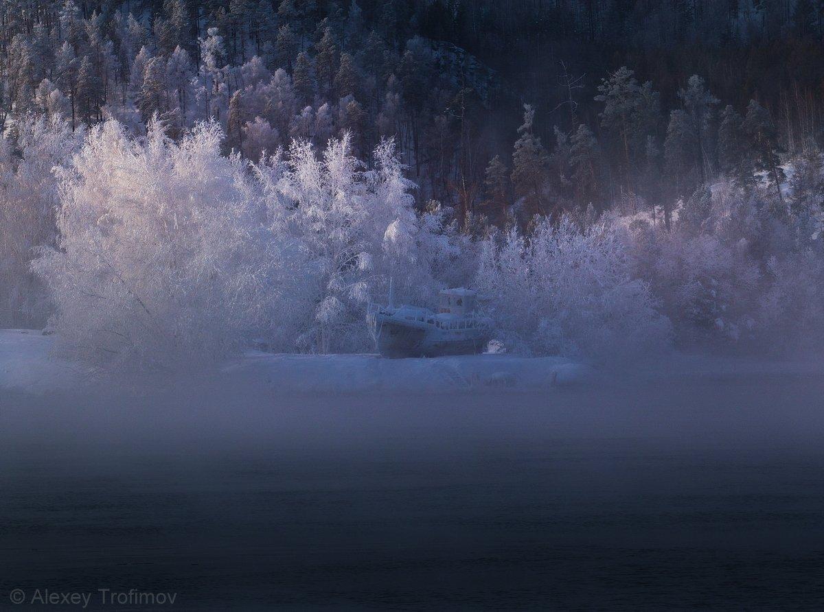 сибирь ангара пейзаж, Алексей Трофимов
