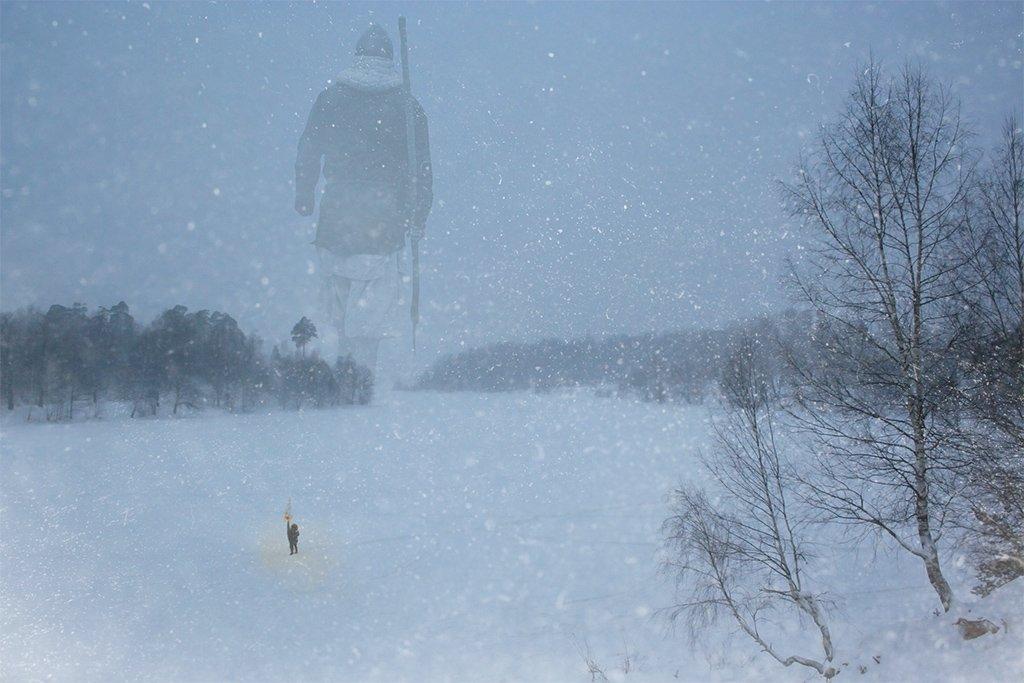 зима, Виктор Поздняк