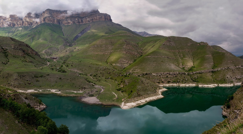 горы, озеро, Эстелла