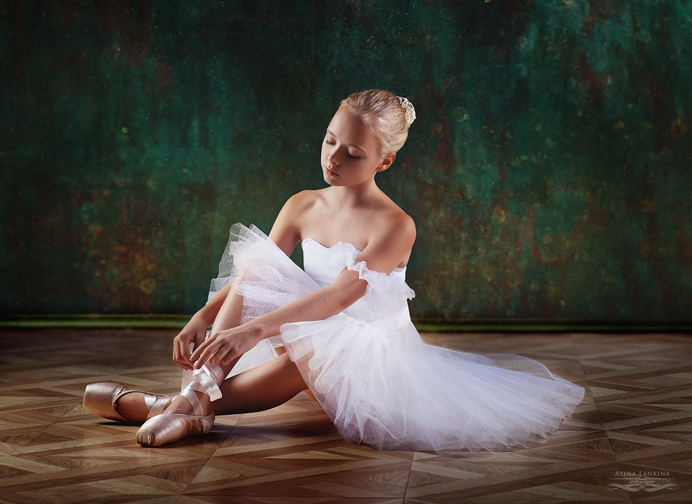 портрет, балет, девочка, Alina Lankina