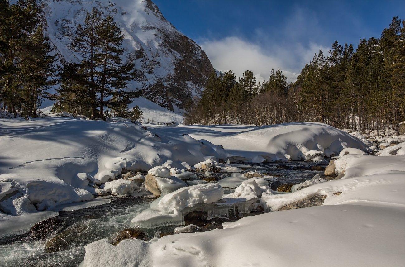 горы, река, Эстелла