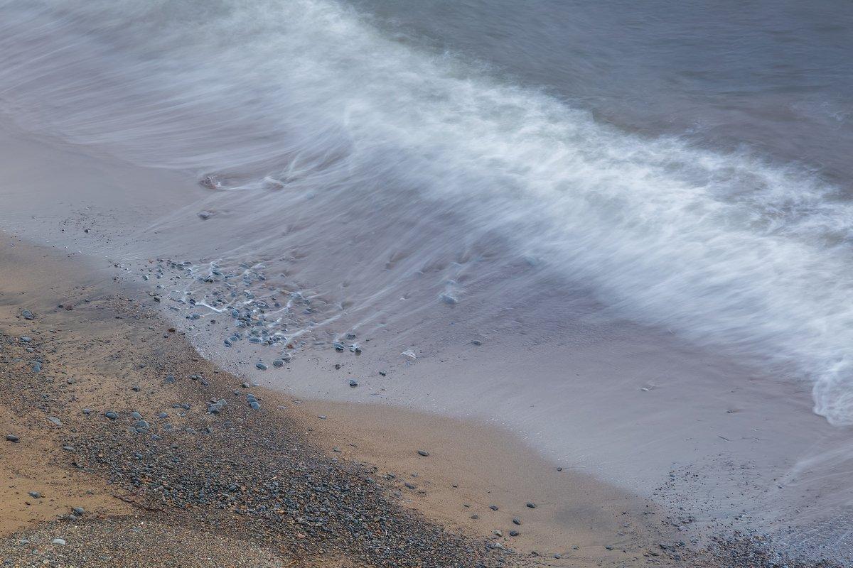 охотское море, колыма, прибой, сумерки, морской пейзаж, магадан, Кирилл Уютнов
