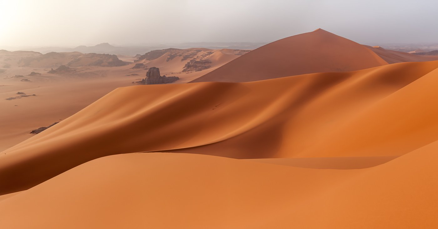 Алжир, Тадрарт, Сахара, Тин Мерзуга, пески, дюна, Арсений Кашкаров