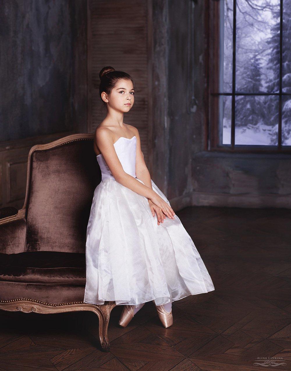 портрет, балет, девочка, ребенок, Alina Lankina