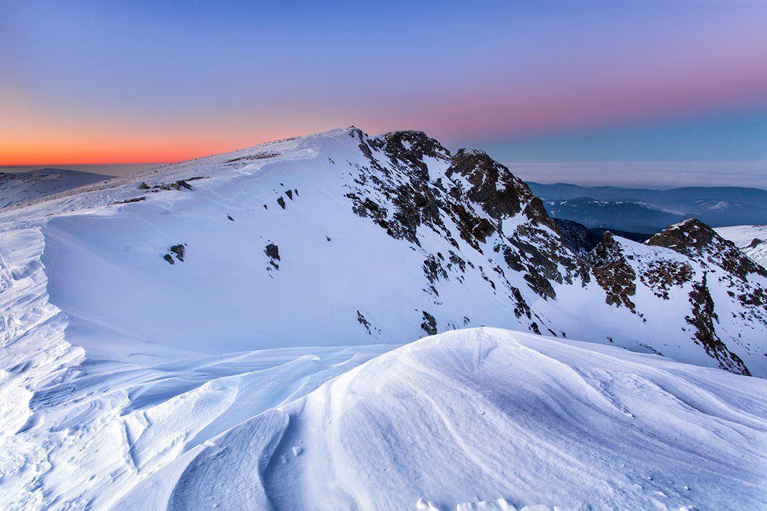болгария, закат, горы, Павел Пронин