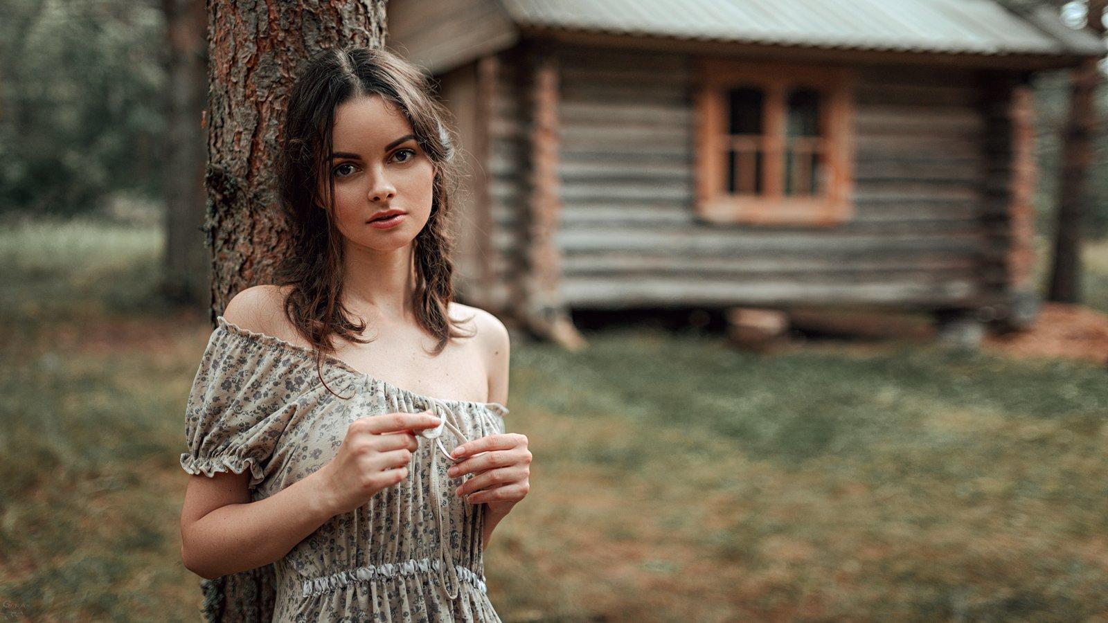 портрет, арт, модель, portrait, art, Георгий Чернядьев