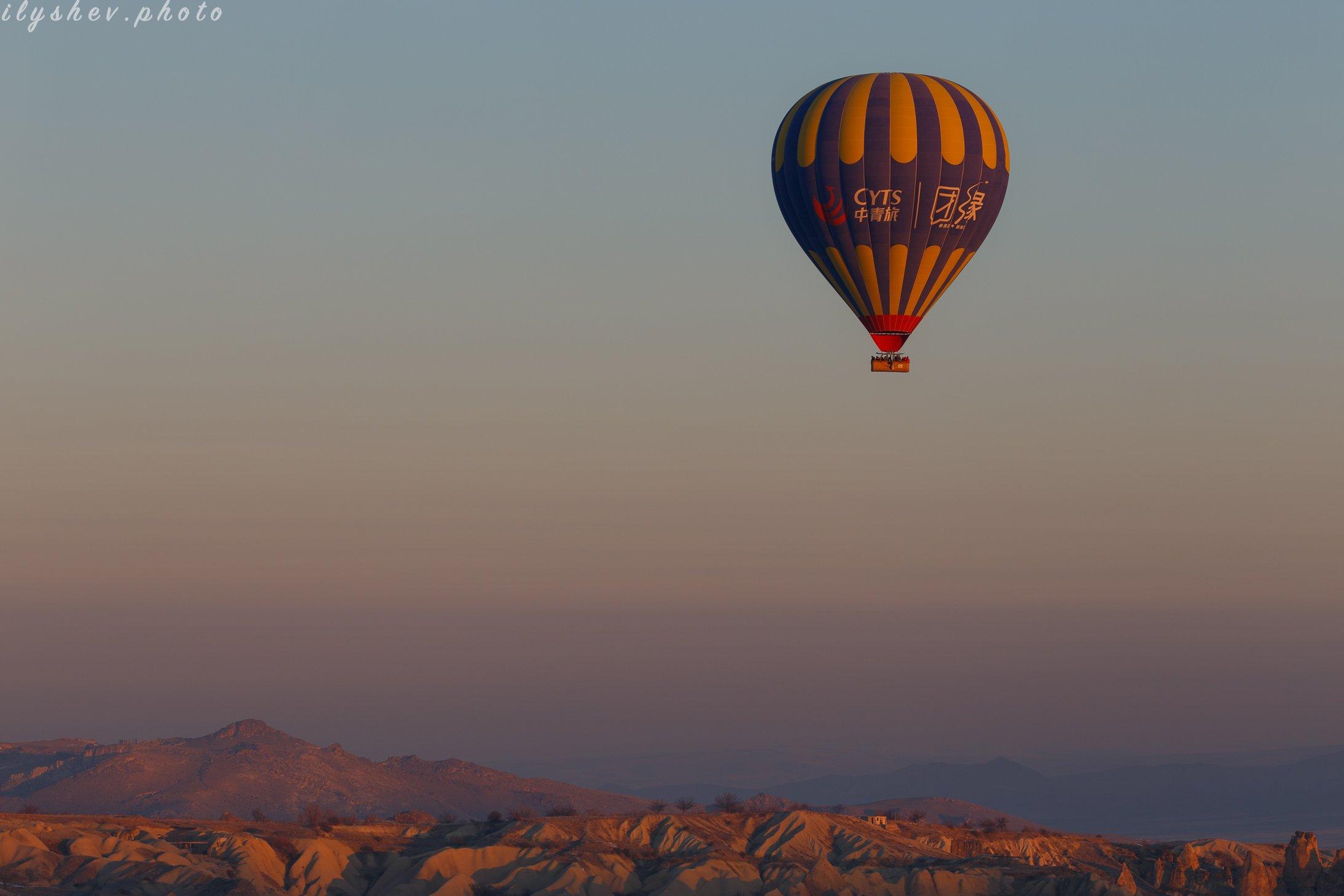 турция, каппадокия, воздушные шары, путешествия, утро, рассвет, Дмитрий Илышев (ilyshev.photo)