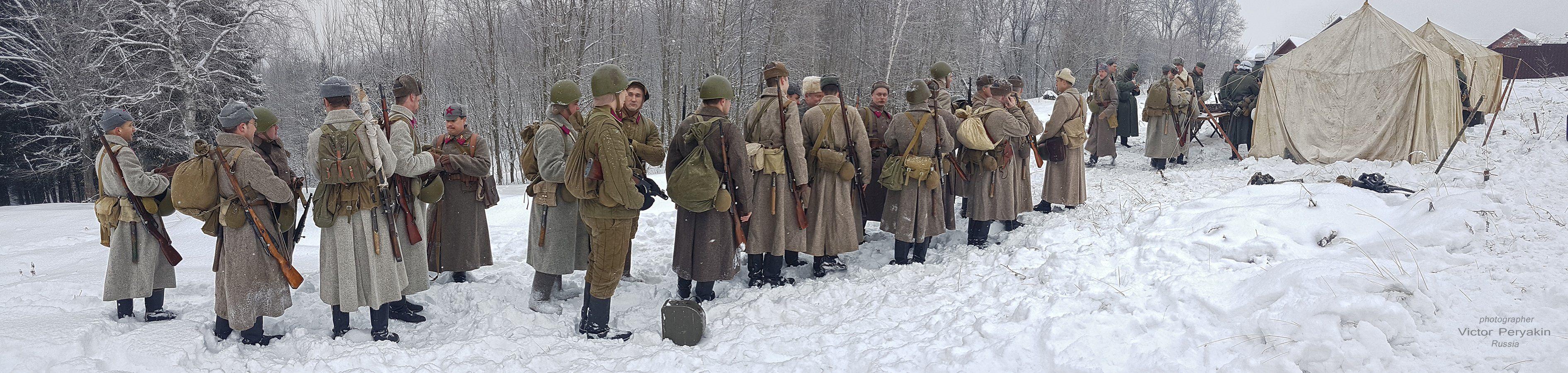 Перемиловская высота война реконструкция герои память, Виктор Перякин