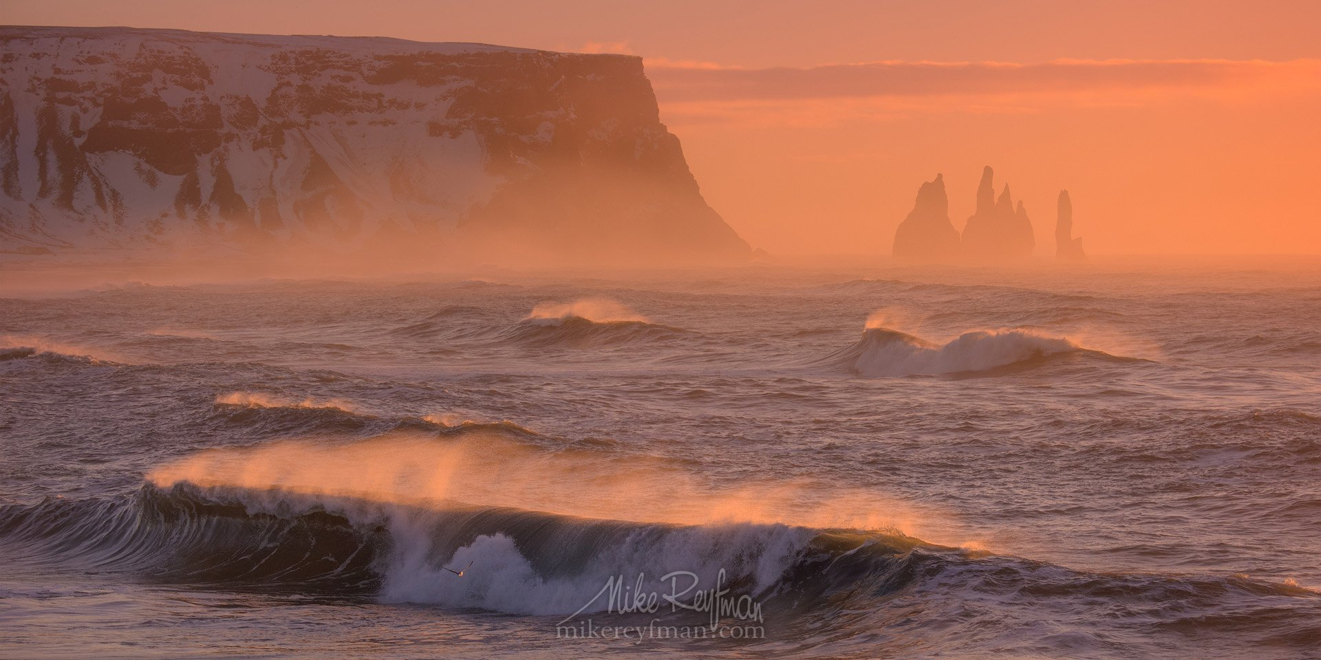 vik, basalt, nature, iceland, photography, sky, sea, motion, pink, surf, storm, horizontal, speed, outdoors, scenic, no people, reynisdrangar, horizon over wate,r reynisfjara, breaking waves, power in nature, south central iceland, Майк Рейфман