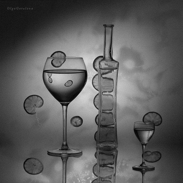 фото, лайм, сок, стекло, натюрморт, Ольга Горелова